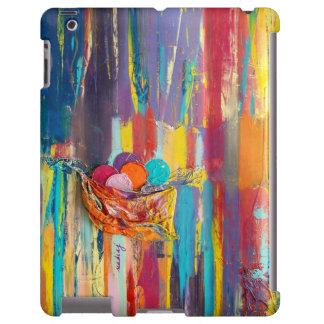 Caja colorida abstracta