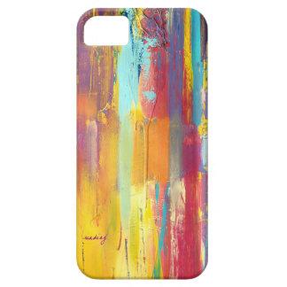 Caja colorida abstracta del teléfono