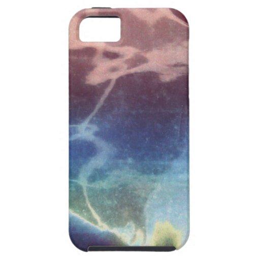 Caja colorida abstracta del teléfono iPhone 5 Case-Mate cárcasas