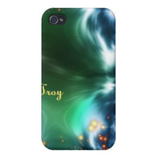 Caja colorida astral de la mota de IPhone 4 de la iPhone 4/4S Funda