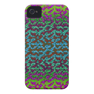 Caja colorida brillante del iPhone 4/4S de Camo Carcasa Para iPhone 4 De Case-Mate