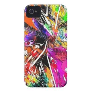 Caja colorida brillante del iPhone de la pintada 4 Case-Mate iPhone 4 Carcasa