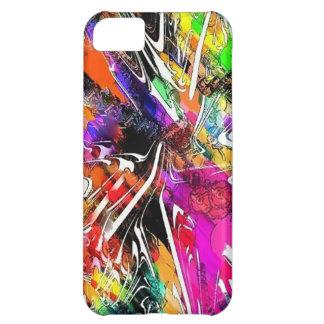Caja colorida brillante del iPhone de la pintada 4
