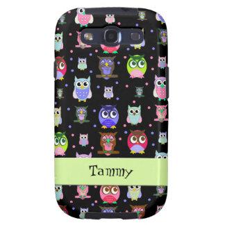 Caja colorida caprichosa del teléfono de Samsung S Galaxy S3 Coberturas