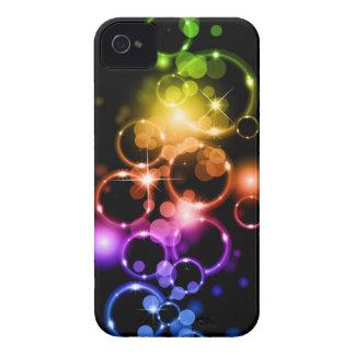 Caja colorida de Blackberry del arco iris Case-Mate iPhone 4 Cárcasas