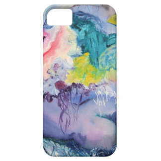 Caja colorida de IPhone del surrealismo iPhone 5 Case-Mate Funda