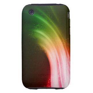 Caja colorida de Iphone Tough iPhone 3 Funda