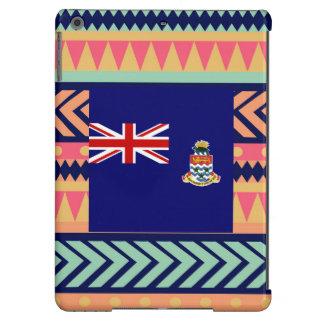 Caja colorida de la bandera de las Islas Caimán Funda Para iPad Air