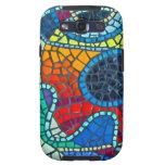Caja colorida de la galaxia de Samsung de la impre Samsung Galaxy S3 Carcasas