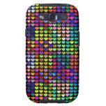 Caja colorida de la galaxia de Samsung de los cora Galaxy S3 Cárcasa