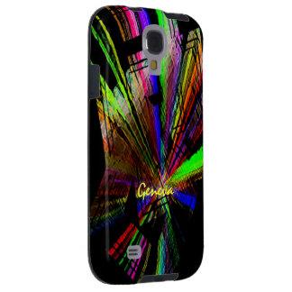 Caja colorida de la galaxia s4 de Samsung de Gineb Funda Galaxy S4