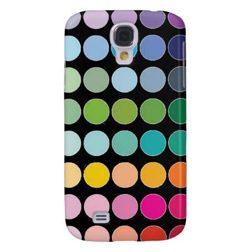 Caja colorida de la galaxia S4 de Samsung de los l