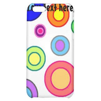 Caja colorida de la mota del iPhone 4 de los círcu