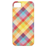 Caja colorida de la tela escocesa iPhone5 de los p iPhone 5 Coberturas