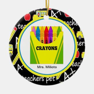 Caja colorida de ornamento del navidad del profeso adorno de navidad