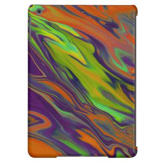 Caja colorida del aire del iPad de la pintura del Funda Para iPad Air