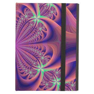 Caja colorida del aire del iPad del diseño floral