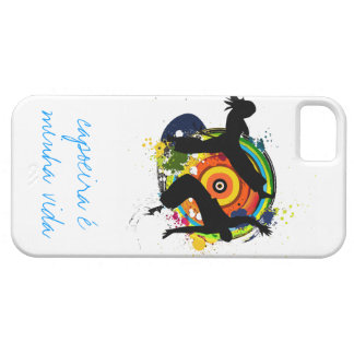 caja colorida del capoeira del roda funda para iPhone 5 barely there
