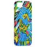 Caja colorida del dragón 5 iPhone 5 carcasas