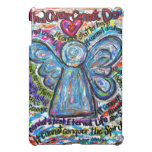 Caja colorida del iPad del ángel del cáncer