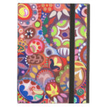 Caja colorida del iPad del arte abstracto con Kick
