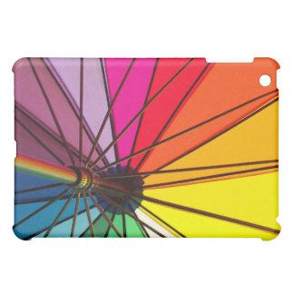 Caja colorida del iPad del paraguas del orgullo ga