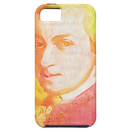 Caja colorida del iPhone 5 de Mozart Funda Para iPhone SE/5/5s
