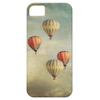 Caja colorida del iPhone 5 del globo del aire cali iPhone 5 Cárcasas