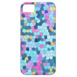 Caja colorida del iPhone 5 del mosaico iPhone 5 Case-Mate Fundas