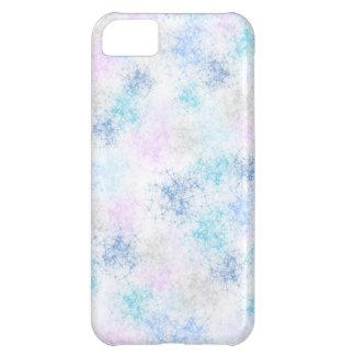 Caja colorida del iPhone 5C de los copos de nieve Carcasa Para iPhone 5C