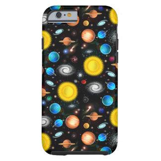 Caja colorida del iPhone 6 de la astronomía del Funda Para iPhone 6 Tough