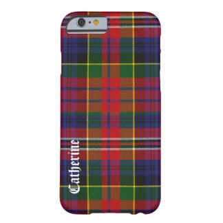 Caja colorida del iPhone 6 de la tela escocesa de Funda Barely There iPhone 6