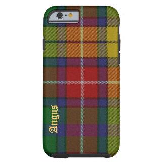 Caja colorida del iPhone 6 de la tela escocesa de Funda Resistente iPhone 6
