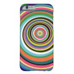 Caja colorida del iPhone 6 de los anillos