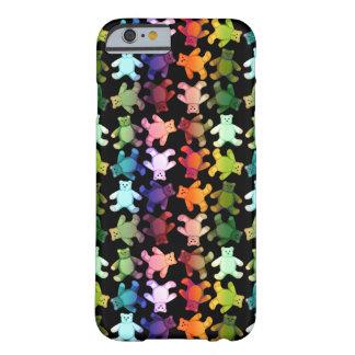 Caja colorida del iPhone 6 de los osos de peluche Funda Para iPhone 6 Barely There