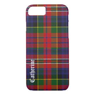 Caja colorida del iPhone 7 de la tela escocesa de Funda iPhone 7