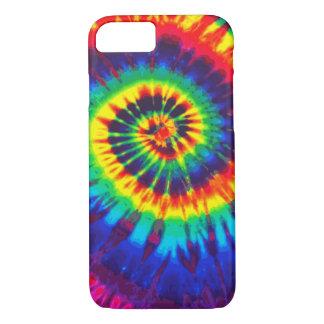 Caja colorida del iPhone 7 del teñido anudado Funda iPhone 7