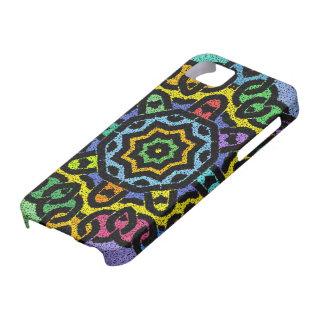 Caja colorida del iPhone de Knotwork iPhone 5 Funda