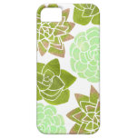 Caja colorida del iPhone de los Succulents el | iPhone 5 Case-Mate Carcasas