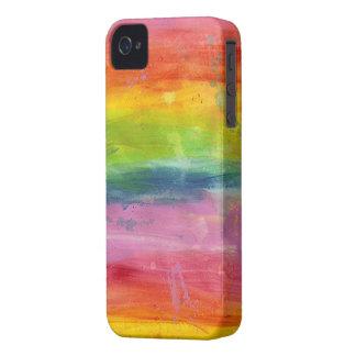 Caja colorida del teléfono de Blackberry de la iPhone 4 Funda