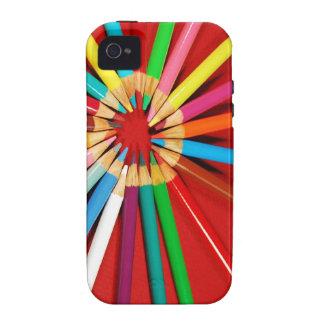Caja colorida del teléfono de la impresión de los carcasa Case-Mate para iPhone 4
