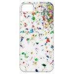 Caja colorida del teléfono del confeti iPhone 5 Case-Mate cárcasas