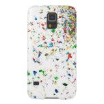 Caja colorida del teléfono del confeti carcasas para galaxy s5
