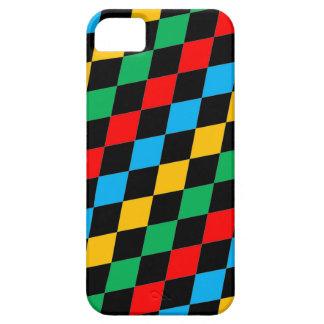 Caja colorida múltiple del teléfono celular iPhone 5 fundas