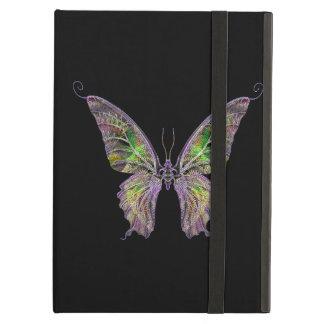 Caja colorida personalizada del iPad de la maripos