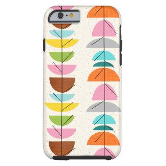 Caja colorida retra del iPhone 6 de las jerarquías Funda De iPhone 6 Tough