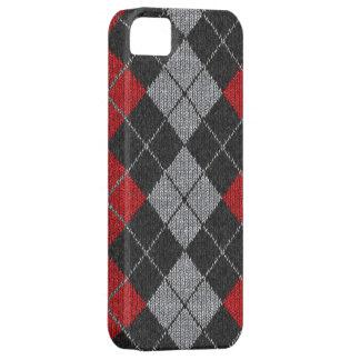 Caja cómoda roja y negra del iPhone 5 de la mirada iPhone 5 Coberturas