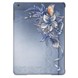 Caja con clase del aire del iPad de la señora
