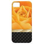 Caja conocida de encargo amarilla de lujo del iPho iPhone 5 Case-Mate Cárcasa
