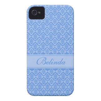 Caja conocida del azul iphone4S de las costuras iPhone 4 Coberturas